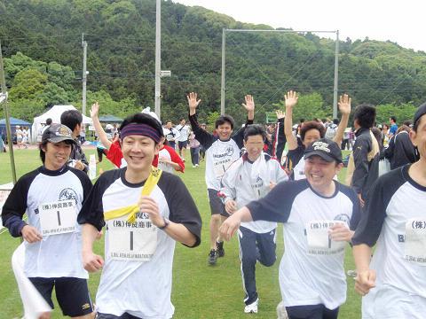 マラソンーゴール
